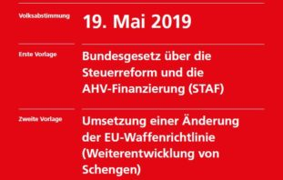 Abstimmung vom 19. Mai 2019